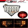 Para yamaha fz6 fazer 2004-2008 motorcycler accesorios luz trasera led integrado de señal de vuelta blinker clara