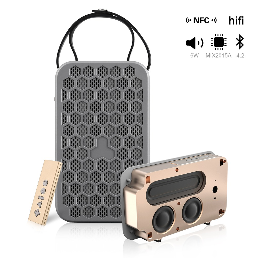 -2 Wireless Portable Bluetooth Speaker With FM Radio TF Card AUX USB Input Portatil Bluetooth Player Hoparlor Sound Box