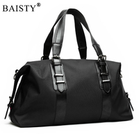 New 2018 Men's Travel Bags Large Capacity Men Luggage Large Capacity Handbags Oxford Travel Duffle Bags Fashion Men Folding Bag