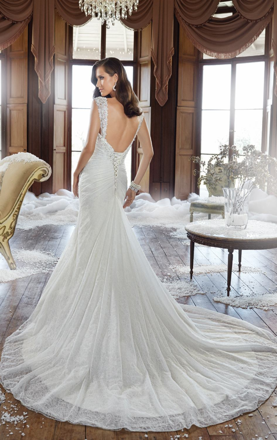 wedding dresses with lace and low back low back wedding dress Wedding Dresses With Lace And Low Back 40
