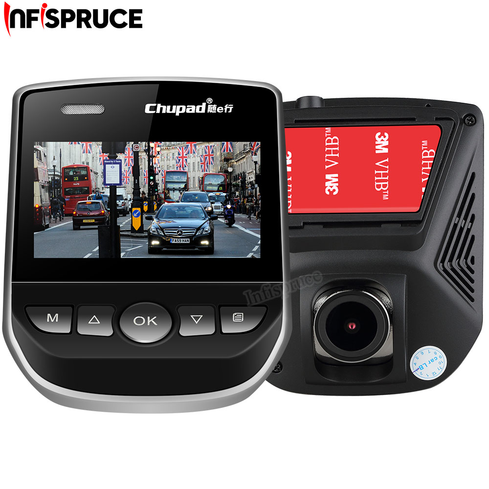 Infispruce Dash Cam Car DVR 1080P FHD Car Video Recorder 170 Degree Wide Angle Mini Portable Black Box WIFI Car Camera Recorder bigbigroad for nissan qashqai car wifi dvr driving video recorder novatek 96655 car black box g sensor dash cam night vision