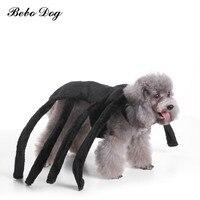 Bebo סטי קטן חתולי כלבי בגדי כלב בגדים לחיות מחמד עכביש גדול שחור לחיות מחמד כלב תלבושות פסטיבל מסיבת חידוש מצחיק בגדים