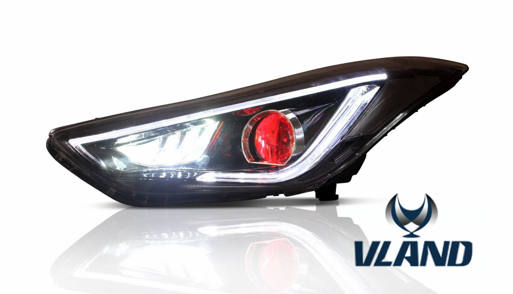 Free Shipping for VLAND Factory Car parts for Hyundai Elantra ...