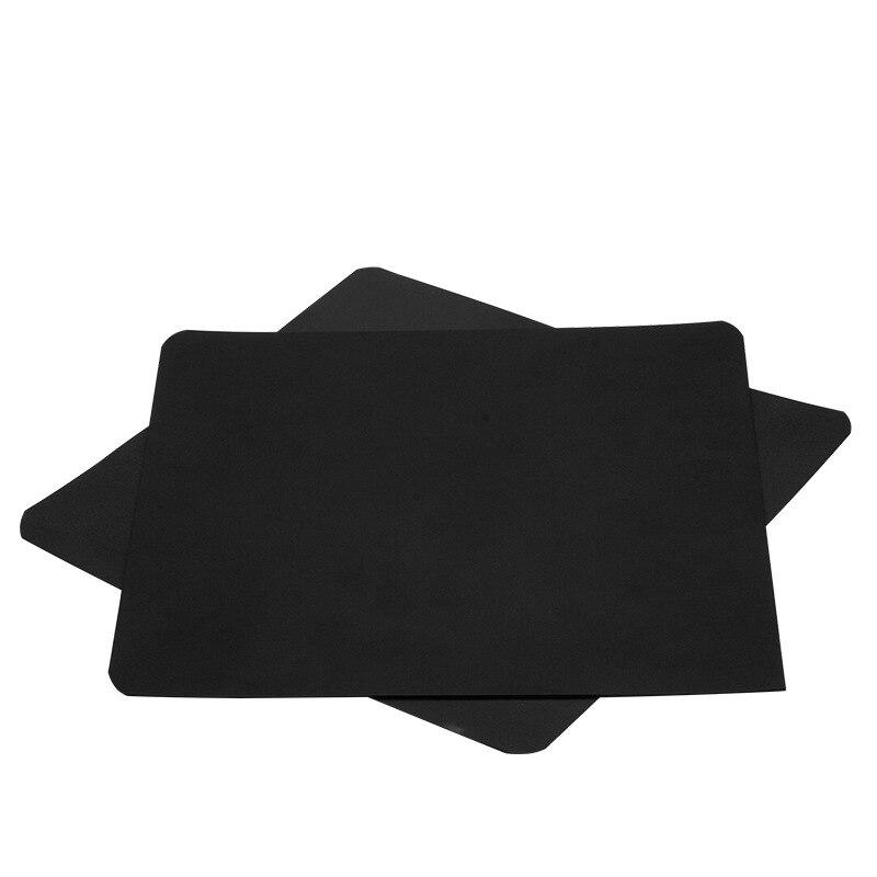 Ender-3 235*235mm cama magnética 3d plataforma etiqueta flexible de alta temperatura resistente contra borde para MK3 semillero 3D piezas de la impresora