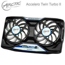 Arctic Accelero Twin Turbo II dual 92mm PWM Fan video card cooler Replace for R9 380
