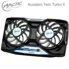 Arctic Accelero Twin Turbo II, dual 92mm PWM Fan video card cooler Replace for R9 380, 370X, 285, 270, R7 370, GTX 980, 970, 960