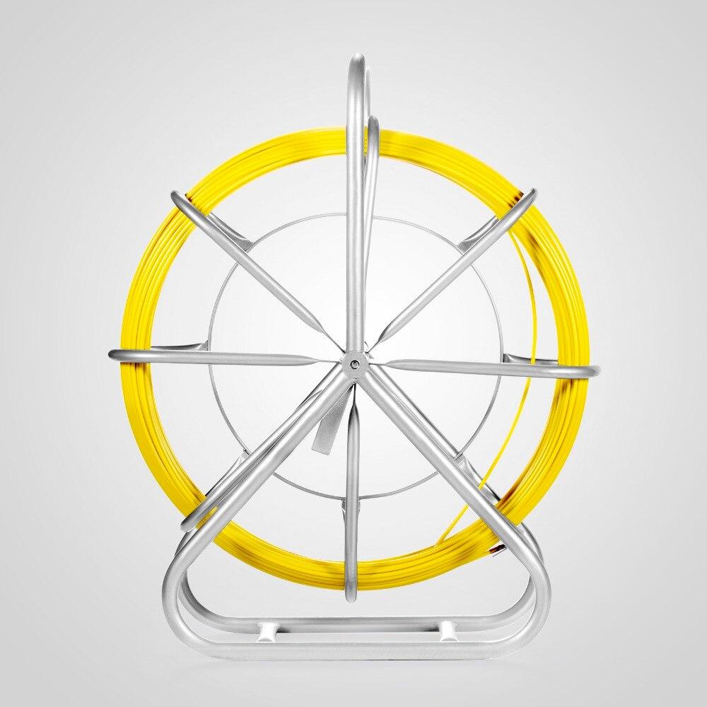Не легко сломать рыбья лента стекловолокна кабель держатель рыбы 6 мм x 425 'непрерывный воздуховод роддер с надлежащей структурой
