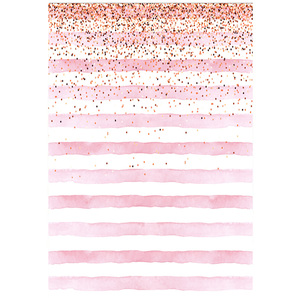 Image 2 - Neoback Bokeh Photo Background Birthday Backdrop Party Backgrounds Supplies Props Shiny Pink and White Stripes Backdrops Studio