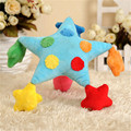 Baby Plush Children's Toys For Baby Rattle Soft Geometric Shape New Year Miniature Dolls Juguetes Educativos Infant Toys 70C0059