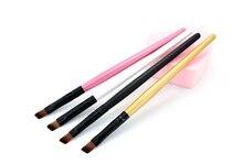 High Quality Eye Comestic Tool Eyebrow Brushes Professional Eyeshadow Brush For Make Up Wood Handle Eye
