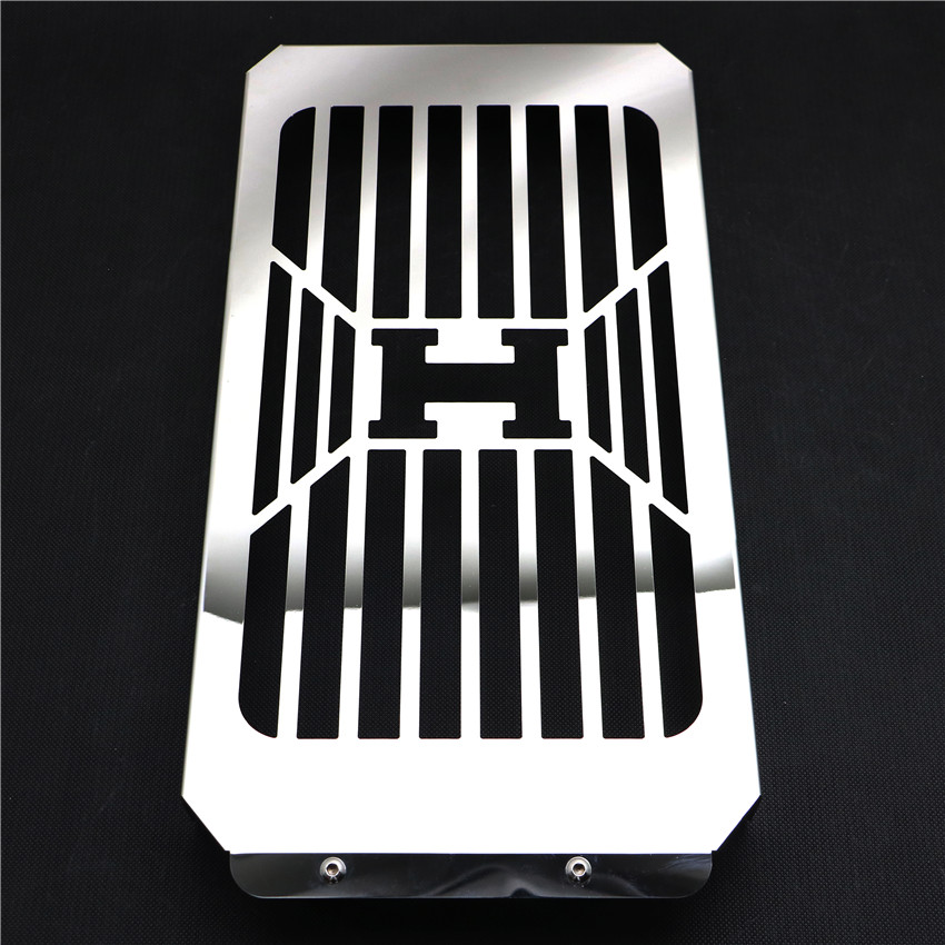 Motorcycle Chrome Skull Radiator Grill Cover Guard Protector For Honda VTX1800 VTX 1800 C F N R S T 2002   2008 2007-in Covers & Ornamental Mouldings from Automobiles & Motorcycles    1