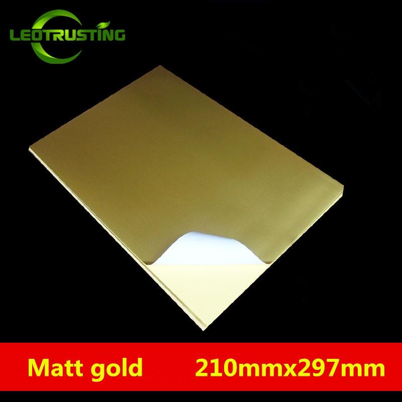 Sticker Paper - 100 Sheets - White Matte - 8.5 x 11 Full ...