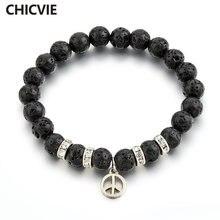 Браслет и браслеты chicvie черные на заказ для женщин изготовления