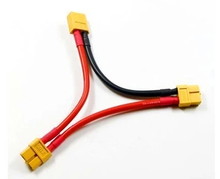 3pcs XT60 Y Wire Harness Plug Series Battery Pack Connector Adapter Cable Lipo NIMH