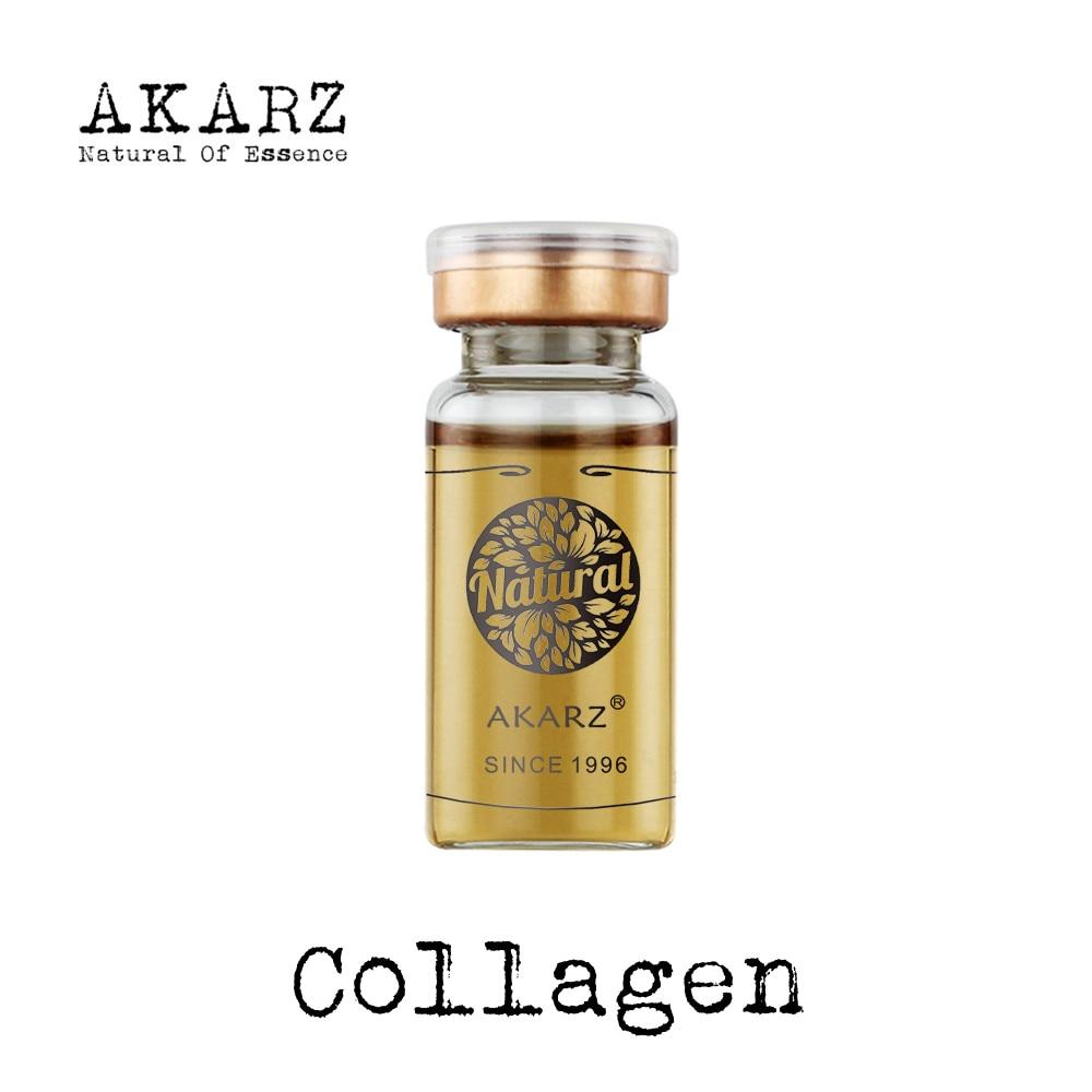 AKARZ Kolagen serum merek terkenal ekstrak esensi kombinasi pemutih pelembab anti-kerut pelembab kulit firming
