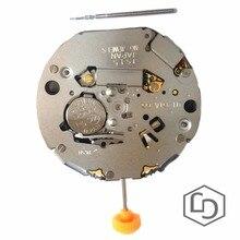 Miyota JS15 reloj de parada fecha de cuarzo movimiento Japón hecho nuevo