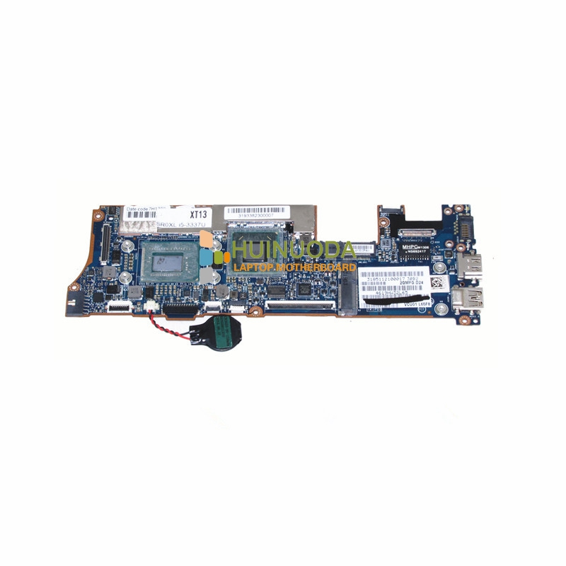 NOKOTION VCU01 LA-8554P 714759-501 714759-001 main board For hp envy Spectre XT13 XT13-2000 laptop motherboard I5-3337U CPU
