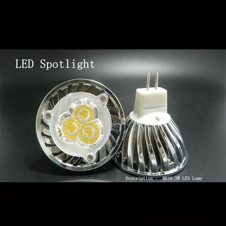 Led Bulb For Bathroom: Mr16 Spotlight 3W LED Lamp 12v Led Bulb Ceiling Led Spot