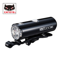 CATEYE Bicycle Light VOLT200XC Lumen Bicycle Handlebar Front Headlights Lights Bike Cycling Portable LED USB Rechargeable