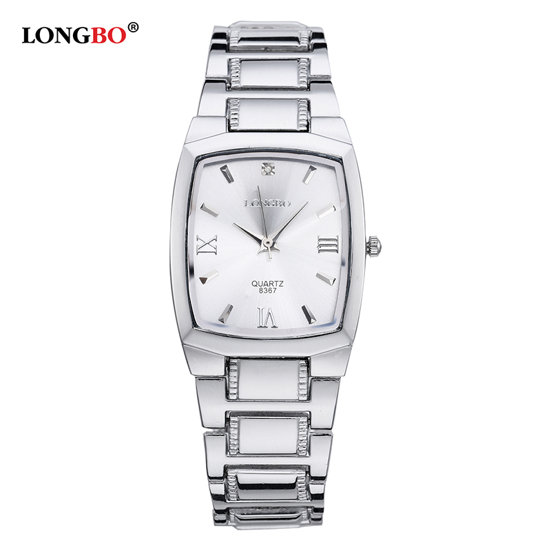 LONGBO 2018 Top Brand Luxury Stainless Steel Men Wrist Watch Fashion Quartz Watches for Man Male Clock Hours Relogio Masculino chenxi men gold watch male stainless steel quartz golden men s wristwatches for man top brand luxury quartz watches gift clock