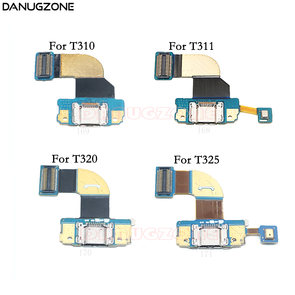 USB Charging Port Jack Charger Dock Connector Flex Cable For Samsung Galaxy Tab 3 8.0 T311 T310 / Tab Pro 8.4 T325 T321 T320
