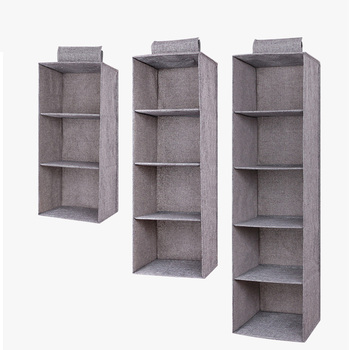 Drawer Shelves Hanging Wardrobe Organizer Storage Box Shoes Clothes For Bedroom E2S