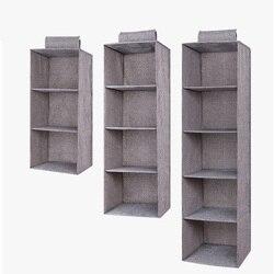 Prateleiras da gaveta pendurado guarda-roupa organizador caixa de armazenamento sapatos roupas para o quarto e2s