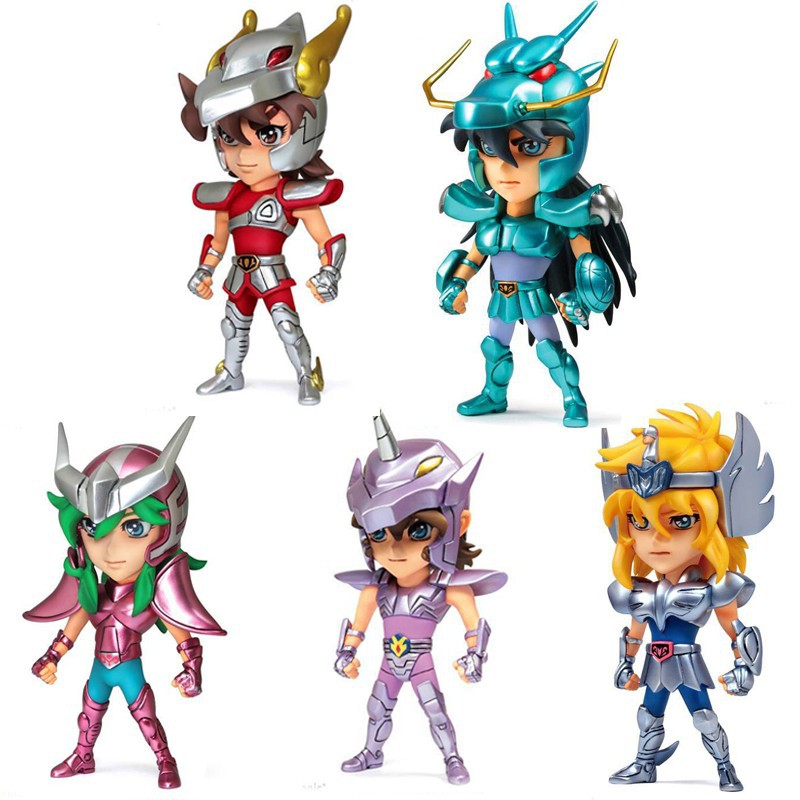Anime Batch Action: ᗖNew Mini PVC Action Anime ᗗ Figures Figures Saint Seiya Φ