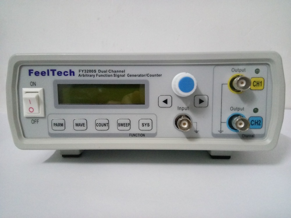 FeelTech FY3220S 20MHz NC dual channel arbitrary waveform DDS Function Generator / source / frequency meter / Signal Generators free shipping mhs 3200a 12mhz dds nc dual channel function signal generator dds signal source 4 kinds of waveform output