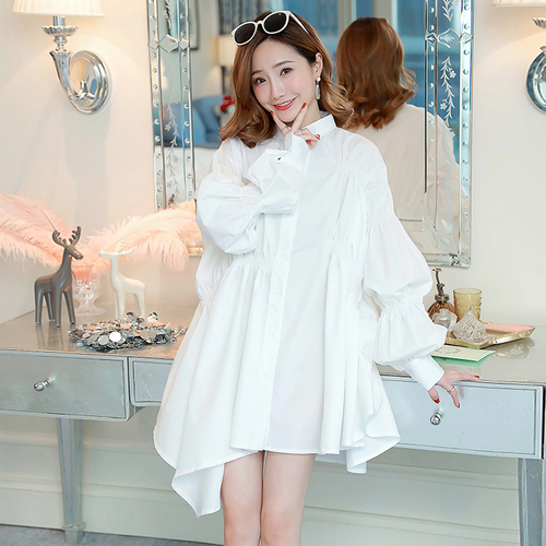 1cc27a477b4 Новые коллекции 2019 модные Белоснежка повседневное плиссированное платье