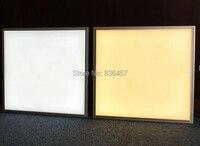Led paneli 600x600 36 w led paneli yüzey kare ışıkları paneli 3000-6000 k 85-240 v ac paneli led 2 yıl garanti