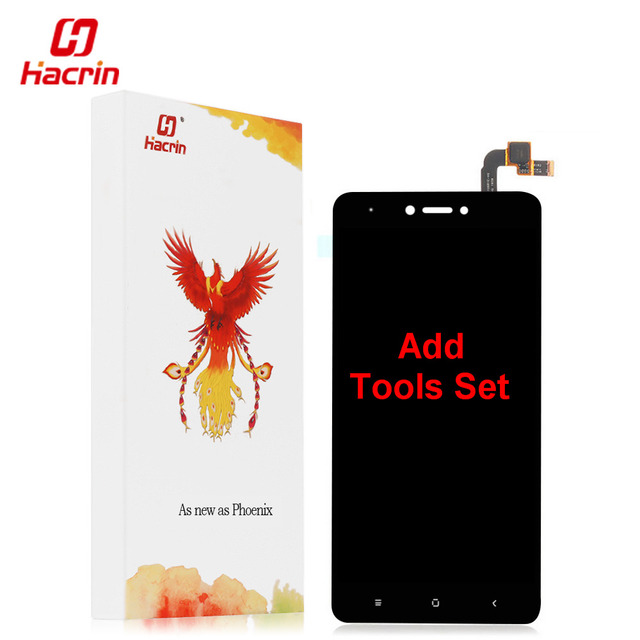 "hacrin Xiaomi Redmi Note 4X LCD Display + Touch Screen Digitizer Replacement Test-Good For Xiaomi Redmi Note 4X Pro 5.5"" Phone"