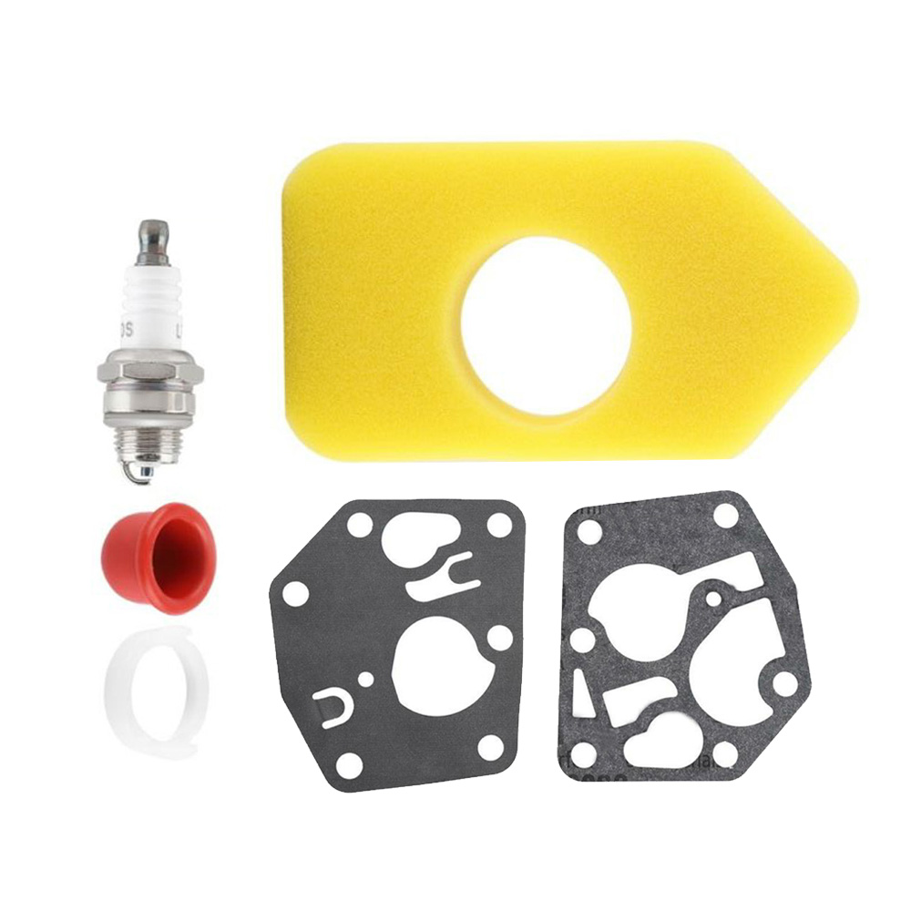 Carburetor Diaphragm Gasket Air Filter For <font><b>Briggs</b></font> Stratton 495770 <font><b>795083</b></font> 698369 Lawn Mower Parts Power Equipment Acessories image