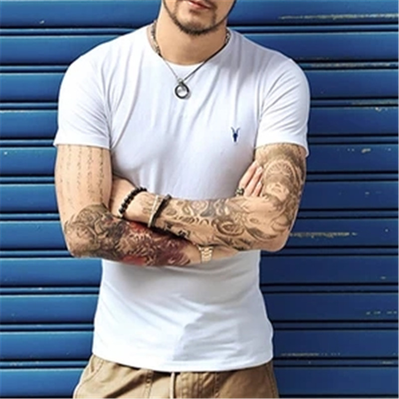 2017 new spring summer AS men s t shirt cotton short sleeve tee tops brand clothing