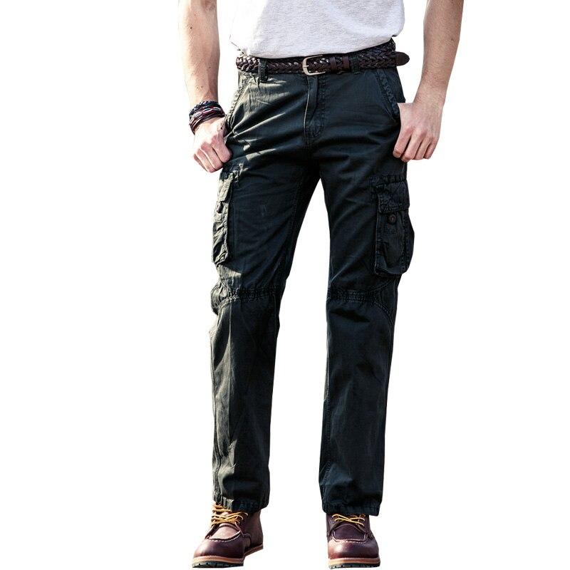 picătură de transport maritim militar bărbați pantaloni de marfă - Imbracaminte barbati