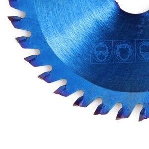 Image 5 - Xcan 1Pc 85x1 0/15Mm 24/30/36 Tanden Tct Hout Cirkelzaagblad Nano Blauwe Coating snijden Disc Hardmetalen Zaagblad