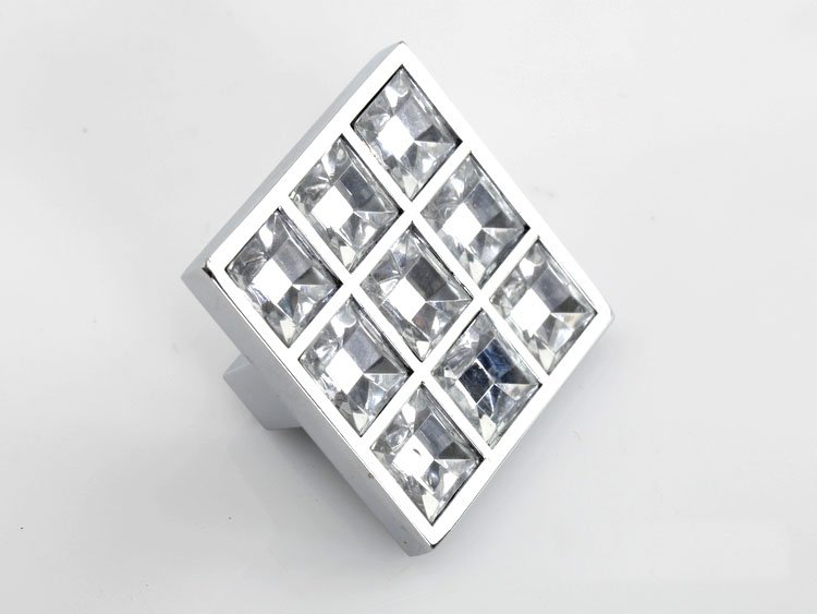 Gentil Glass Cabinet Knobs. Cabinet New Square Handle Clear Crystal Glass Drawer  Cabinet Knobs Size 3838mmin