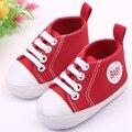 Venta caliente 13 Colores de Lona Del Bebé Zapatos de Deporte Para Niños Y Niñas 4 Tamaños 0-15 Meses