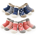 Wholesale 4 pairs infant Short Socks Fashion New Design Causal Elastic Cuff meias Baby Boys Girls Pure Cotton unisex calcetines