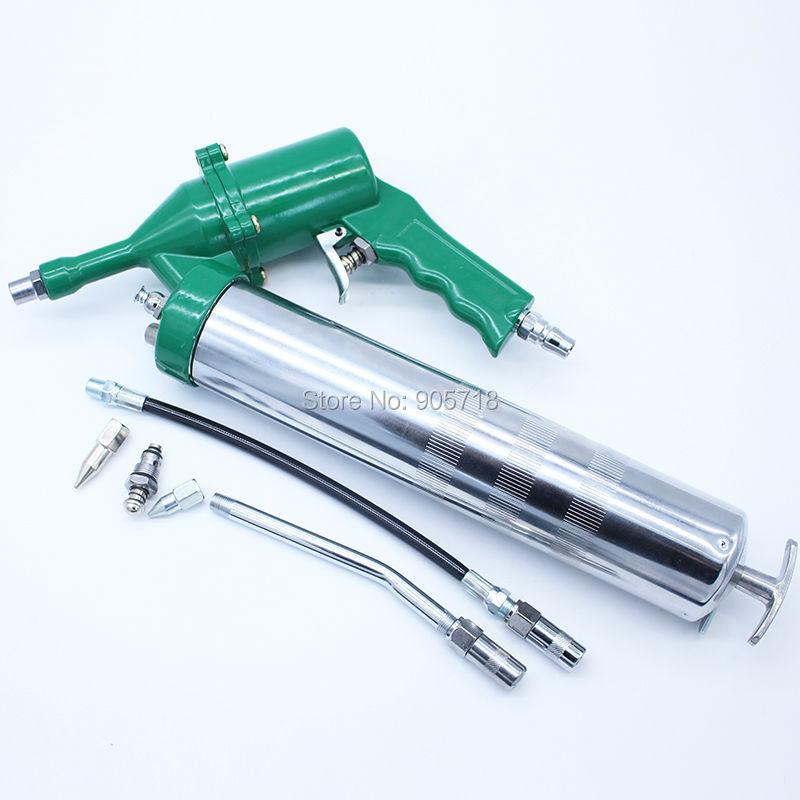 High Quality 400CC Professional Pneumatic Grease Gun Repeating Air Operated Grease Gun Tool цена