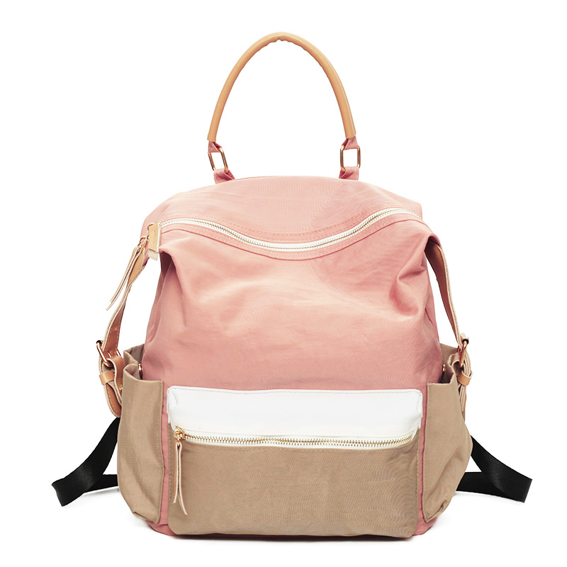 Women Fashion Cool Colorful Travel Backpack 2017 Canvas Teenager Girls School Book Bag Female Back Pack Bags Woman nbxq247