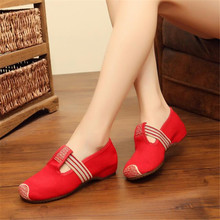 New spring, summer and autumn square dance casual shallow mouth single shoes tendon soft bottom comfortable wear womens