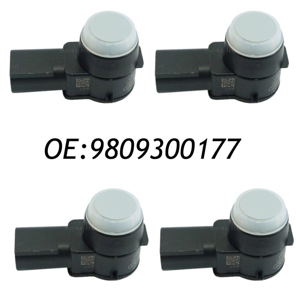 4 шт. подходит для PSA 9809300177 peugeot датчик парковки PDC бампер вспомогательный радар 0263023914, PSA9809300177