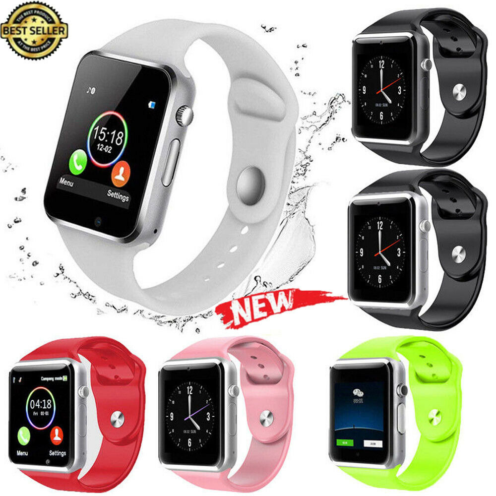 2019 NEW Smart Watch Sim Phone Bluetooth Camera Apple & Android Compatible