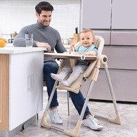 Детский металлический стул из столового гарнитура детский обеденный стул многофункциональный складной портативный детский, обеденный сто