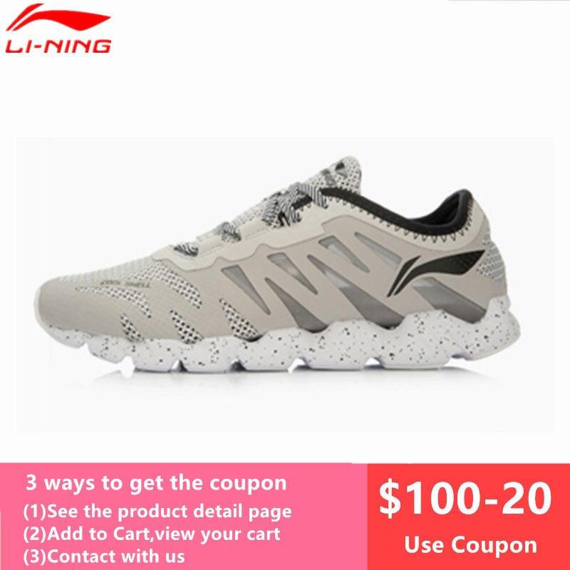 Li-Ning мужские кроссовки супер легкая амортизация мужские Althetic спортивные кроссовки удобные легкие Li Ning ARBL013 L634OLC