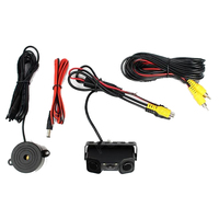 2 In 1 Car Rear View Camera Car Camera Parking With 2 Sensore For Parking Camera