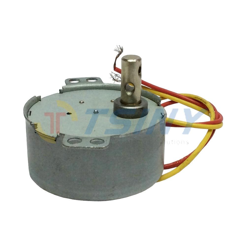 Ac motor gear motor ac 220v cw 5rpm min small synchronous for Small ac gear motor