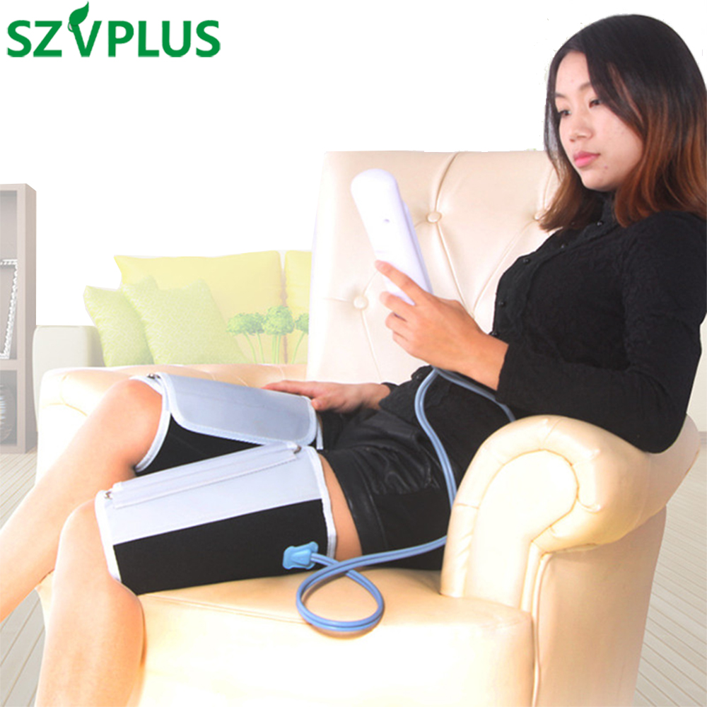 Rechargeable Air Compression LEG Massager for calves arm Leg Circulation Spasm Dystonia Varicose veins Hemiplegia Stroke