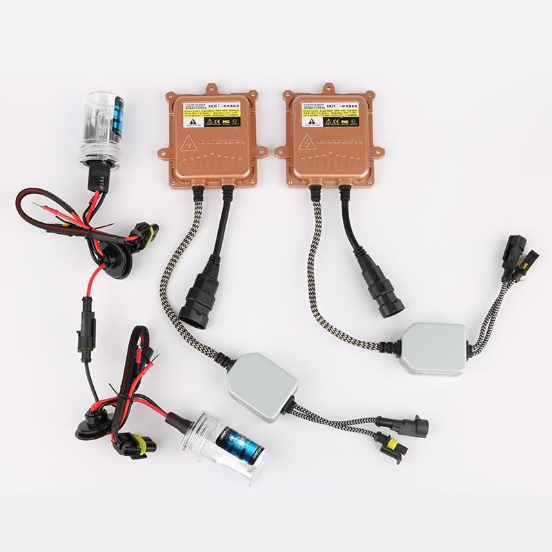 1 Set HID H7 Xenon Light Bulb + 12V 55W Ballast for Skoda Octavia 2 Auto Car Headlights Head Lamp Car Light Source YK7B+S6x2